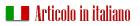articolo in italiano