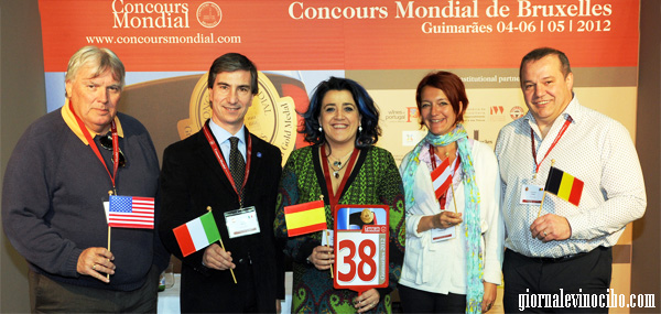 concours mondial bruxelles official taster
