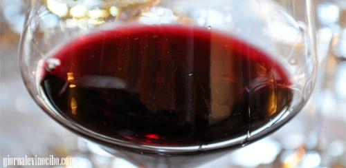 bicchiere rosso