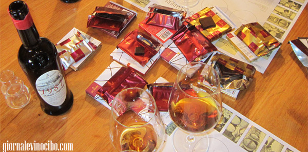 cioccolato domori e vini de bartoli