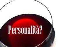 personalità vino