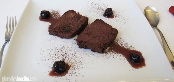 cioccolato fondente ed amarene