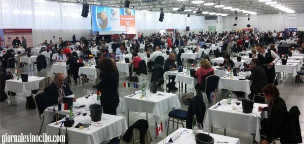 concorso mondiale 2013 la sala tasting
