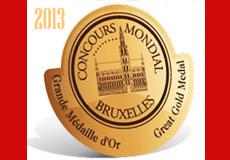 medaglie concorso mondiale 2013