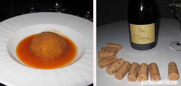 Mystery Dinner SensEvent piatti vino