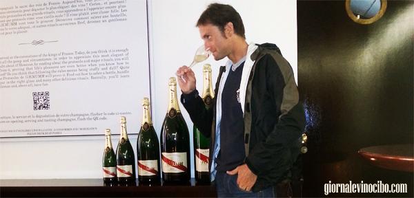 champagne  mumm giornalevinocibo