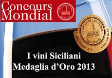 vini sicilaini mdaglia d'oro concours mondial 2013 home