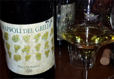grappoli del grillo 2001 home
