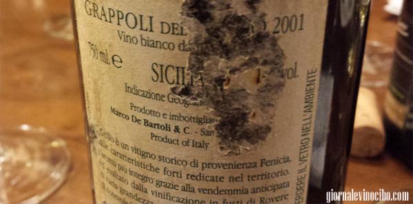 grappoli del grillo 2001 retro etichetta