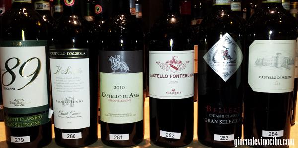 gran selezione chianti classico bottiglie 1