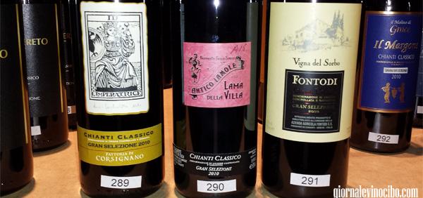 gran selezione chianti classico bottiglie 2