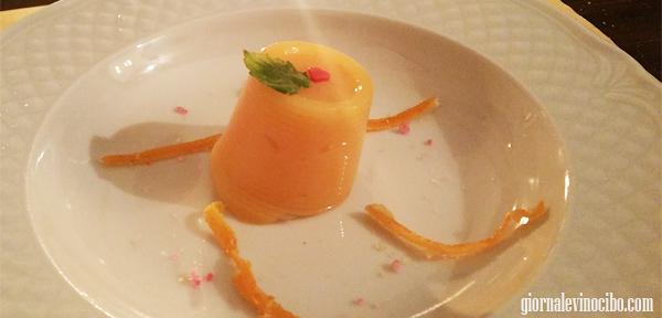 gelatina di arancia totò passami l'olio giornalevinocibo