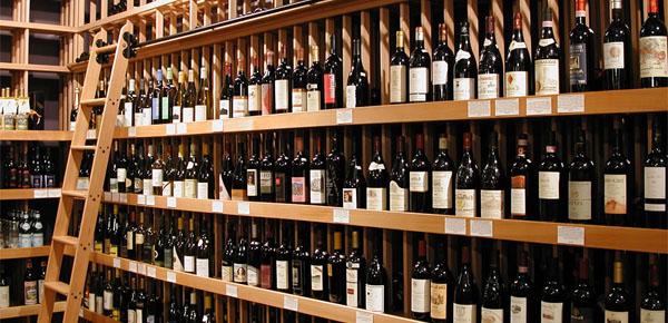 bottiglie vino enoteca