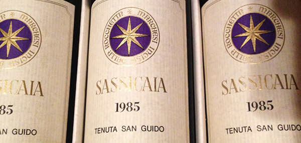 sassicaia 1985 giornalevinocibo