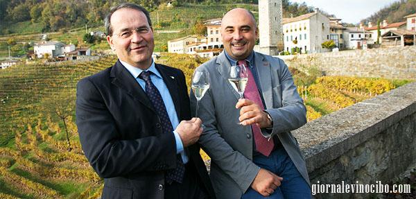 presidente città del vino e sindaco di conegliano giornalevinocibo