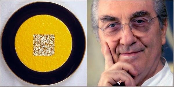 Riso oro e zafferano Gualtiero-Marchesi