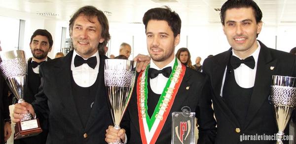 tre finalisti miglio sommelier d'italia 2015 giornalevinocibo