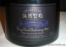 Krug Clos d'Ambonnay 1995 home
