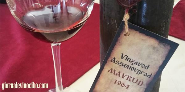 Assenovgrad- Chateau Asena mavrud 1964 ok giornalevinocibo