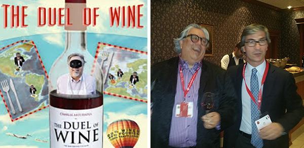 duel of wine  Charlie Arturaola Luigi Salvo giornalevinocibo